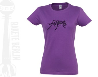 Woman T-Shirt  'Ant drawing'