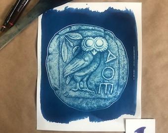 Owl of Athena, Ancient Tetradrachm