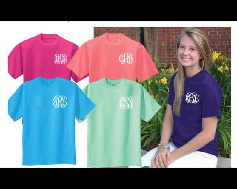 1e2b93a07aba7 Sale / Monogram shirt / monogram tshirt / monogram / monogram tshirt sale /  Sale / tee shirt