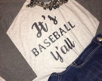 Baseball Raglan Shirt / baseball raglan / Personalized / baseball shirt / monogrammed shirt