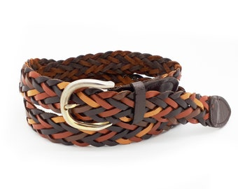 8cdd86517d52d Vintage braided leather belt
