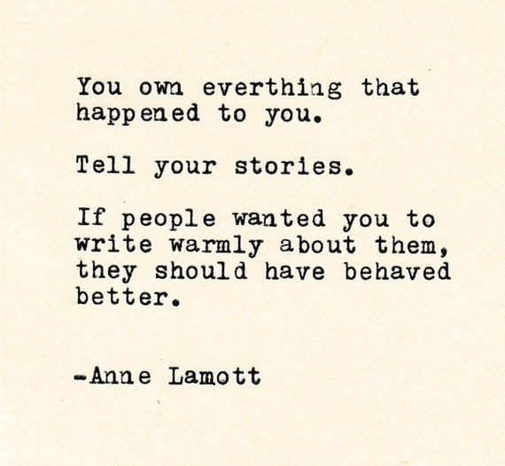 Anne Lamott Quotes Inspirational Quotes THE ANNE LAMOTT Quote Made On | Etsy Anne Lamott Quotes