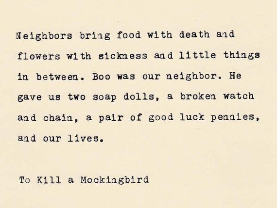 To Kill A Mockingbird Quotes | To Kill A Mockingbird Quote Harper Lee Quote Made On Etsy
