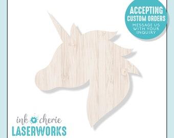 Tags Ornaments Laser Cut #1106 Wooden Cutout Shape Bow Silhouette