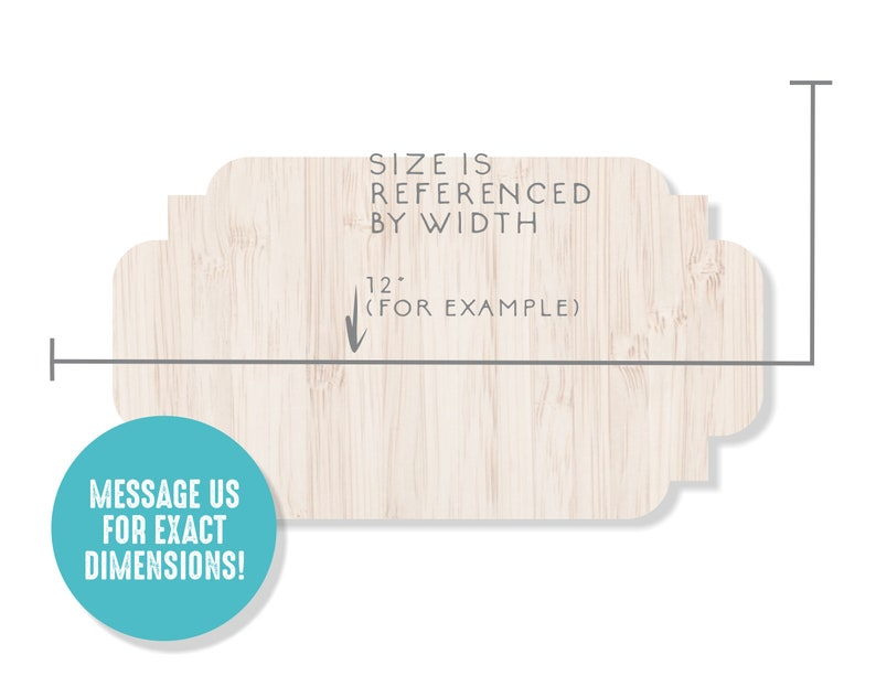 Fancy Wood Frame Plaque Wooden Frame Frame Wall Decor Wood Laser Cut Shapes DIY Crafting Shapes Backing Plaque Wood Shape Frame Cutout
