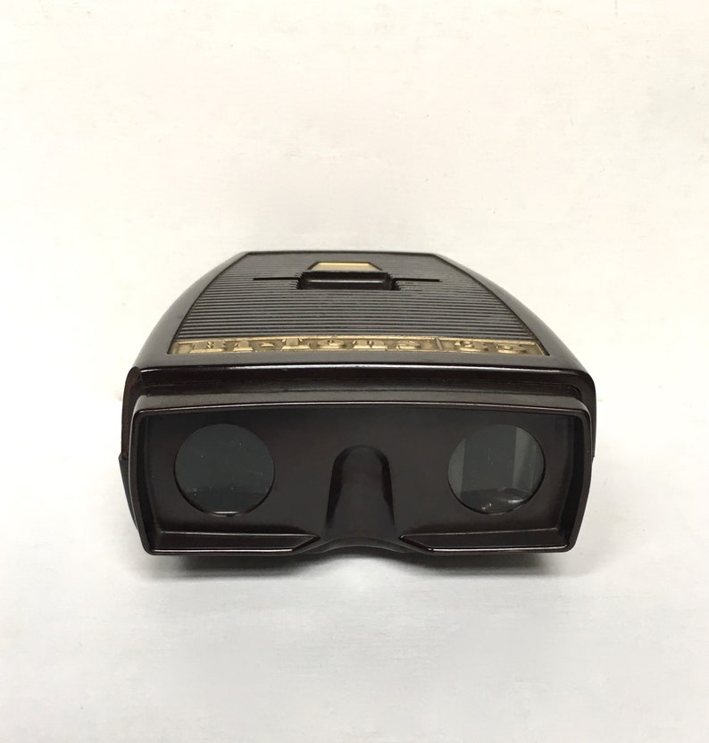 Vintage Bi-Lens 35 Slide Viewer 35 mm Photo Prop Sawyer/'s Inc For Display Prop Made In USA Untested - Bakelite