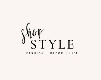 Premade Logo - Logo Design - Fashion Logo - Business Logo - Blogger Logo - Brand Design  - Blog Header