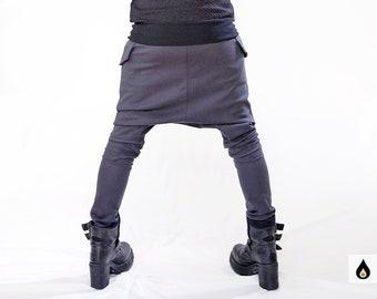 Baggy pants.