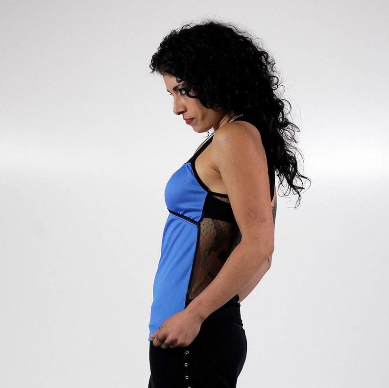 TOPT-SHIRT BRACEs-Transparent blonde back