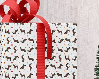 Holiday Horse Gift Wrap