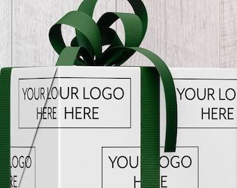 Custom Logo Gift Wrap