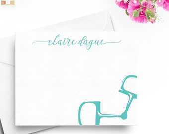 Personalized Big Dee Snaffle Bit Notecards