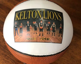Customized Mini Basketball Gifts, Team Awards, Senior Gifts, Coaches' Gift and Basketball Player Gift, Team Gift, Wedding Gift and Birthday
