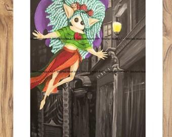 """Beautiful Uniqueness - 11x14"""" Repro Print - Fae Muse Inspiration Achievement MuseArt"""