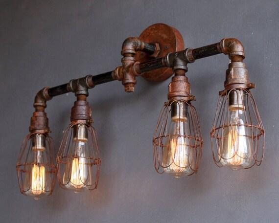 Taormina r applique per esterno rettangolare marrone rustico