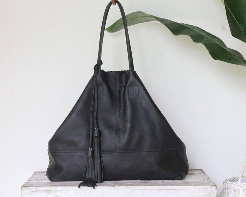 42692999a9 Big Leather Handbags   Womens Leather Bag   Shoulder Bag