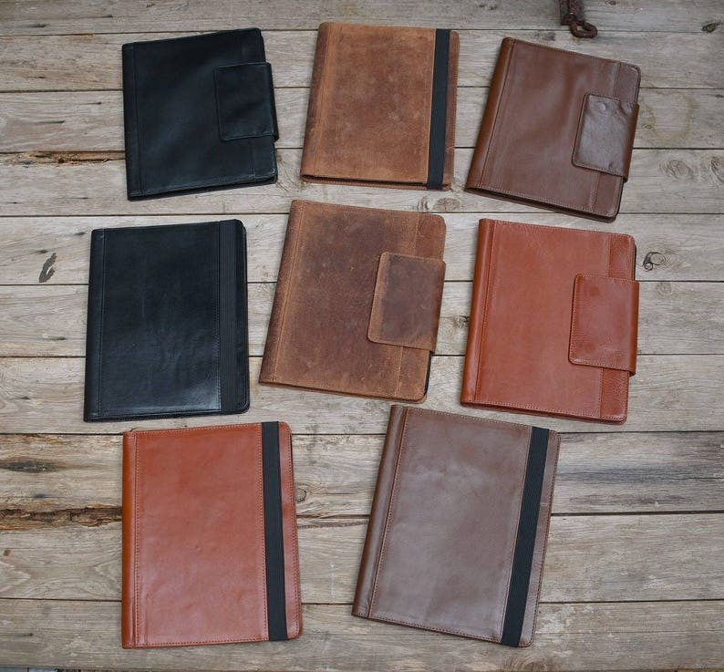Handmade Rustic iPad Leather Case to fit 4/5/6/7/8/9 image 0