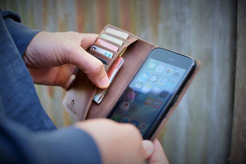 Handmade iPhone 6 Plus 7 Plus 8 Plus XS Max Case Genuine image 0