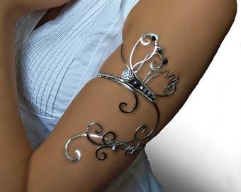 Butterfly Upper Arm, Upper arm cuff,  butterfly jewelry, copper jewelry, wedding jewelry, butterfly, arm bracelet, , arm cuff, armlet