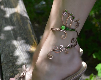 Beauty gift anklet, butterfly jewelry, body jewelry, butterfly,  leg bracelet, ankle jewelry, silver jewelry, gift for her wrapped bracelet