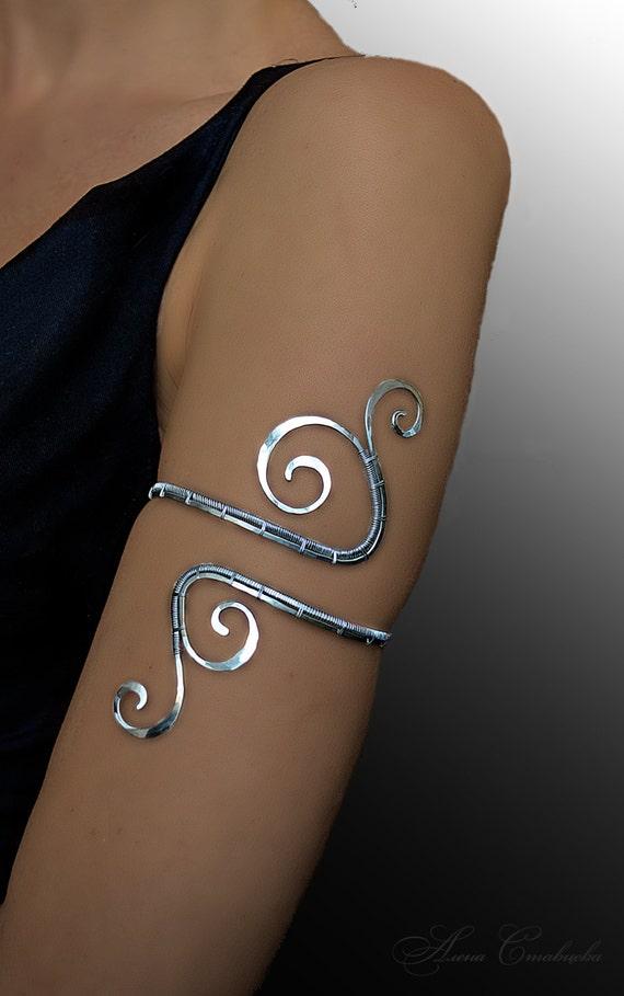 Beauty Guru Upper Arm Cuff Upper Arm Bracelet Arm Jewelry