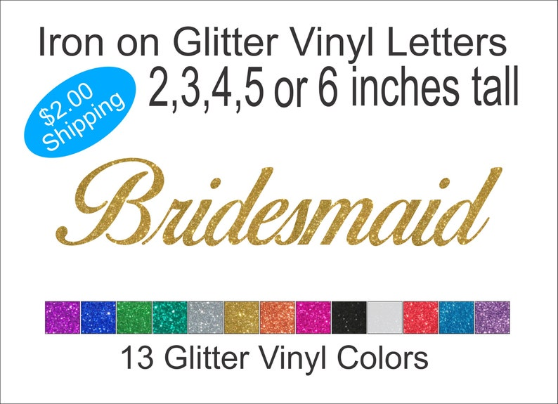 Two Inch Pink Iron On Characters Letters or Numbers Vinyl Printing