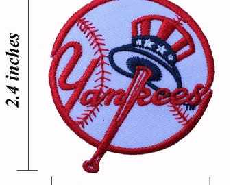 New York Yankees Logo Size 225 Embroidered Iron 1 Patches