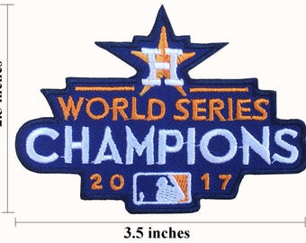 48f25888 Houston Astros 2017 World Series championships Size 3.5