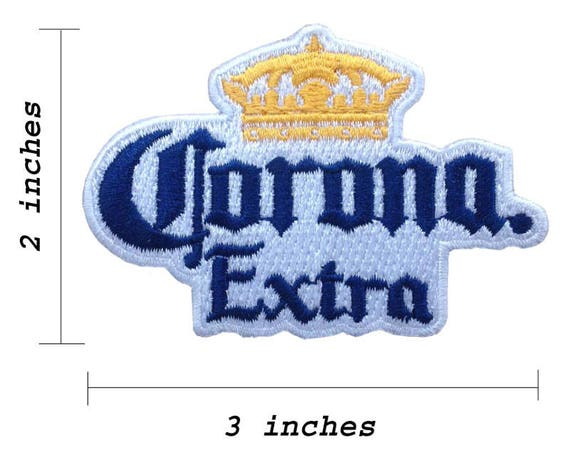 Corona Extra Beer Logo Embroidered Iron 1 Patch Etsy