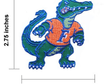 "Florida Gators 2.5"" Logo Embroidered Iron On Patch"