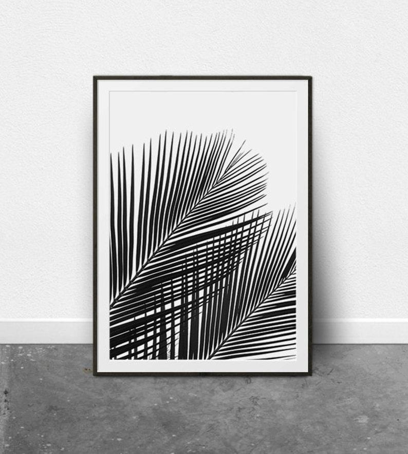 7860267a06 Tropical Print Palm Leaf Print Palm Leaf Art Printable Art | Etsy