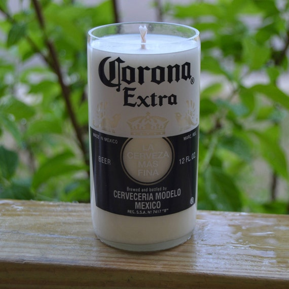 Corona Extra Beer Bottle Candle
