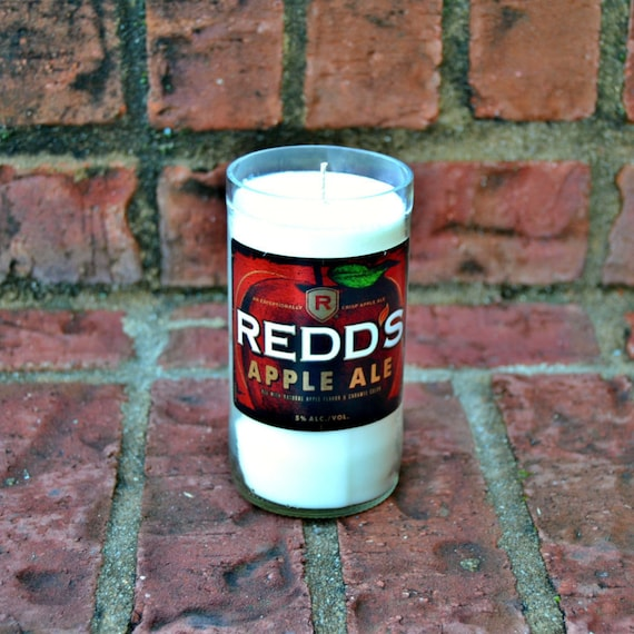 Redd's Apple Ale candle