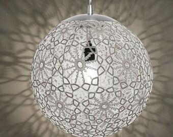 """Liz Crochet Lamp 14"""" ø - Black"""