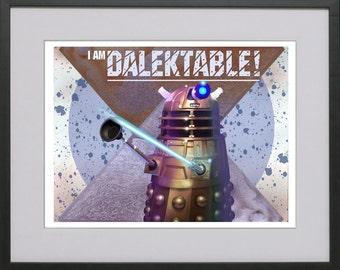 I Am Dalektable - Dalek!
