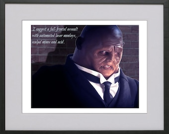 Strax - 'I suggest a full frontal assault...'