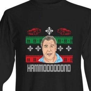 Jeremy Clarkson Top Gear Grand Tour Nation Christmas Sweater T-Shirt