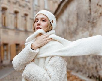 Warm for Winter Faux Fur Bright Leopard Print  Fleece Scarf