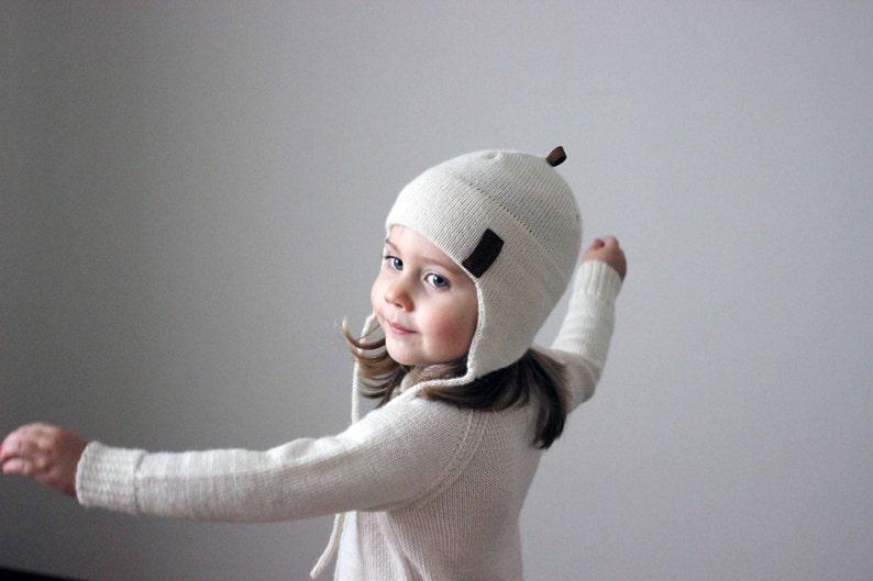 d5246b1d786 Alpaca wool winter hat knit natural white grey beige navy