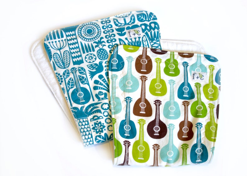 Organic baby boy shower gift  guitars  boy shower gift  image 0