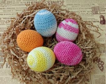 Easter Eggs, Crochet Easter Eggs, Easter Gift