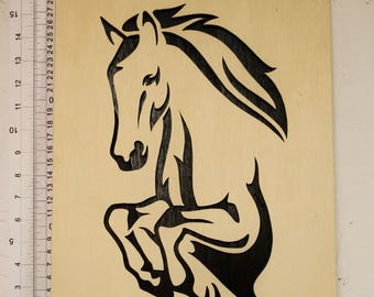 Horse painting