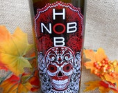 Hob Nob Wicked Up-Cycled- Limited Edition wine candle- Vino Scented!