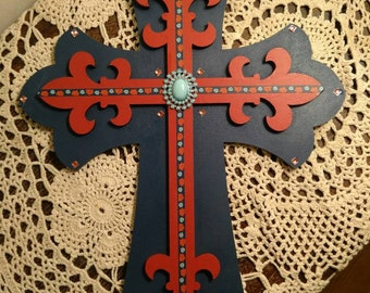 Beautiful Handmade Layered Wooden Cross