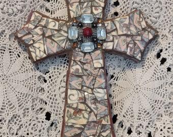 Beautiful Handmade Mosaic Cross - Inspiration