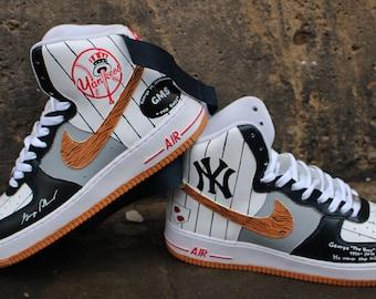 d4b86f2721 Custom painted Nike Air Force 1 High