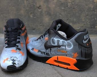 944c5019cf Custom painted Nike Air Max 90