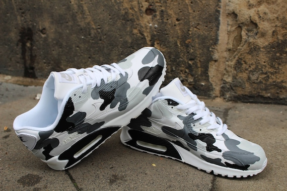 Custom Painted leather Nike Air Max 90