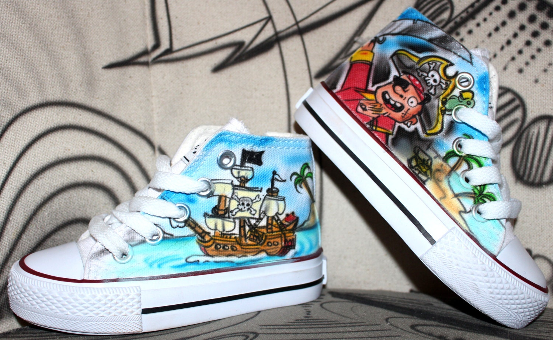 Size Fashion Canvas Individual Shoes Airbrush Kids Design Kinder Graffiti Style BCxoed