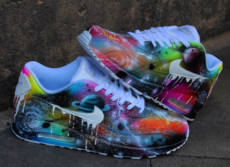 factory price 34123 135f2 Custom Nike Air Max 90 Universe Drip Unique and   Etsy